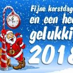 Kerst en oud & nieuw 2017!